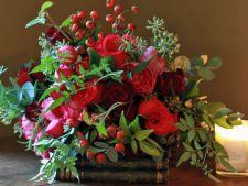 4 aranjamente florale cu care sa-ti impodobesti casa in plina iarna