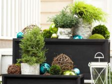4 idei pentru un balcon sic de Craciun