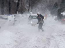Romania, sub cod rosu de viscol! Autostrazi si drumuri inchise