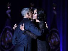 """Mesajul de adio al lui Barack Obama. """"Michelle, mi-ai fost nu doar sotie si mama a copiilor mei, ci si cea mai buna prietena"""""""