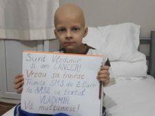 La doar 8 ani, Vladimir duce o lupta intre viata si moarte! Cancerul il poate rapune!
