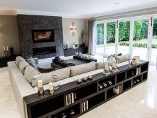 Canapele cu biblioteca, un plus de efect pentru casa ta