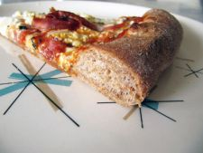 Aluat pentru pizza cu faina integrala si miere