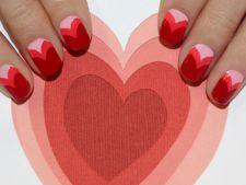 15 modele de unghii, perfecte pentru Ziua Indragostitilor VIDEO