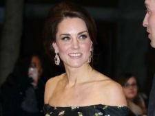 Kate Middleton, prima oara la BAFTA 2017. A facut furori!