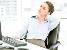 Munca la calculator, mai periculoasa decat credeai! Ce este hernia de disc cervicala