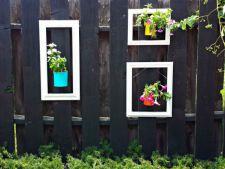 6 idei geniale pentru a-ti decora gardul si a da culoare curtii tale