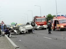 Accident grav pe DN1: 2 morti si 8 raniti