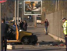 Accident grav in Bucuresti, cauzat de un taximetrist! Pasagera a murit pe loc