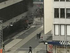 Atentat la Stockholm! 3 morti si minim 8 raniti