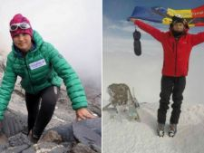 Alpinistii Dor Geta Popescu si Erick Gulacsi, condusi pe ultimul drum