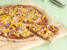 Gateste cu cel mic: Pizza cu porumb