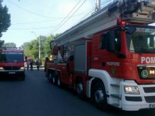 Explozie in Bucuresti, urmata de un incendiu! ISU in alerta