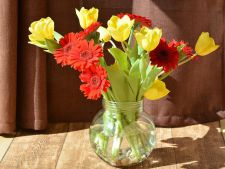 Cum sa faci florile in vaza sa isi pastreze prospetimea mai mult timp