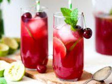 Cum prepari limonada de cirese