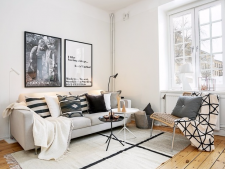 Ce pui pe pereti daca vrei sa decorezi in stil scandinav