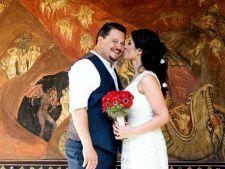Mihai Bobonete s-a casatorit. Prima imagine