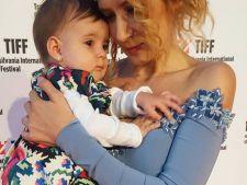 Amalia Enache, imagine induiosatoare cu fiica ei la TIFF