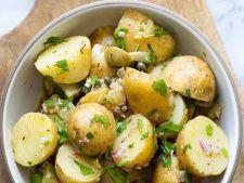 Chef Liviu Balint: Salata legume cu parmezan si busuioc
