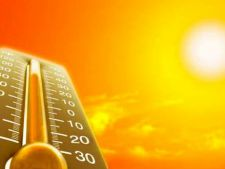 Vreme caniculara in weekend! Temperaturi de peste 38 de grade Celsius