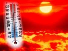 COD ROSU de CANICULA! Temperaturi de 44 de grade Celsius in Romania!