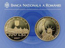 BNR lanseaza monede de aur de 100 de lei! Sunt doar 250 de monede. Care este pretul de vanzare