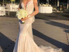 Crina Abrudan, o mireasa superba. Primele imagini de la nunta