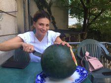 Cura cu pepene. Cum arata Ioana Ginghina dupa ce a slabit 5 kilograme cu fructul verii