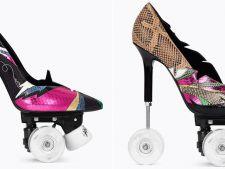 Cat costa pantofii stiletto cu role, lansati de  Yves Saint Laurent