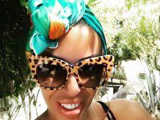Raluca Badulescu, furori pe plaja in Ibiza! I-ai vazut silueta de sirena?