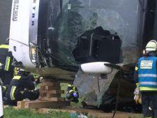 Autocar cu romani, rasturnat in Germania! 50 de raniti, 6 in stare grava