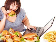STUDIU: Persoanele obeze mananca de doua ori pe zi! Obiceiurile alimentare nesanatoase