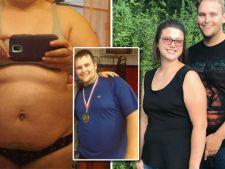 Doi soti obezi au dat jos 140 de kilograme, dupa ce au schimbat aceste trei lucruri!