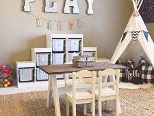 Organizare in camera copilului, dupa principiile Montessori