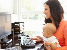Cum sa lucrezi de acasa si sa-ti cresti copilul in acelasi timp