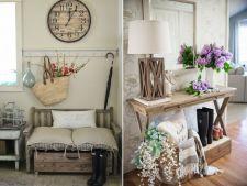 4 idei ingenioase pentru decorarea holului de intrare in casa