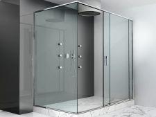 Cabine de dus din sticla securizata - Idei complexe de amenajare pentru salile de baie