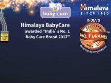 Himalaya BabyCare a fost desemnat Brandul nr. 1 pe segmentul ingrijire pentru copii!