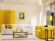 Accente de galben in decorul casei. Tu stii cum sa le folosesti?
