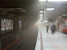 Un nou incident la metrou!