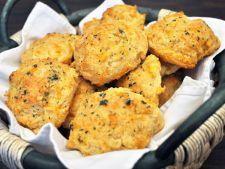 Biscuiti deliciosi cu branza cheddar! Un rasfat pentru intreaga familie