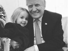Cea mai frumoasa nepoata a lui Donald Trump! Zici ca e papusa!