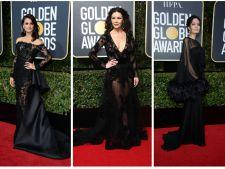 7 tinute all black! Inspira-te de la vedetele de la Globurile de Aur