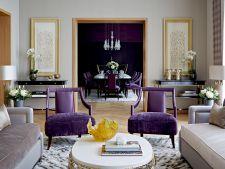 Decoreaza-ti casa in nuante de ultraviolet, culoarea anului 2018! 4 idei din care sa te inspiri