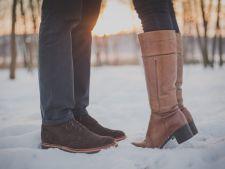 Cum sa cureti urmele albe de zapada, de pe incaltaminte