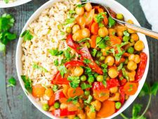 Curry cu naut si ulei de cocos, o reteta vegetariana, pe care o vei adora