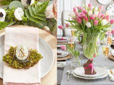 3 decoratiuni pentru masa de Paste pe care le poti face singur