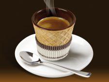 Cesti de cafea comestibile, inventia delicioasa care incanta simturile si protejeaza natura