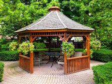 Foisorul, locul de relaxare din gradina! 5 modele din care sa te inspiri