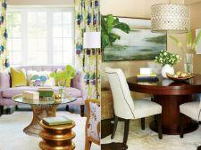 5 lectii de design pentru amenajarea livingului si a diningului